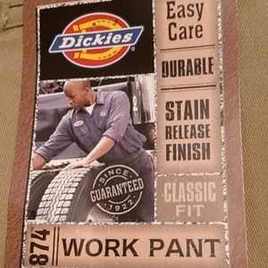 NWT  DICKIE'S EASY-CARE WORK PANTS